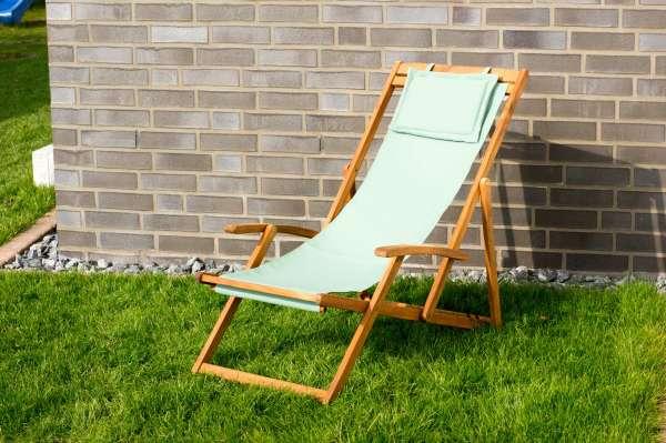 Relax Sonnenliege, grün