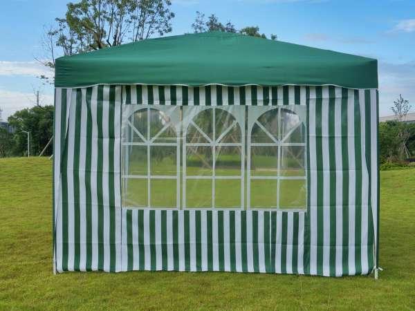 Seitenwand für Pavillon grün