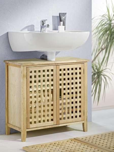 Waschbeckenunterschrank, Walnuss